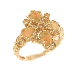 9ct Gold Golden Citrine Ring