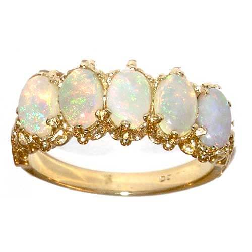 18ct Gold AAA Fine Opal Ring